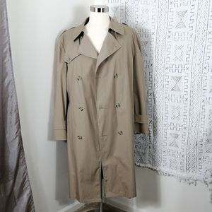 Classic Vintage Double Breasted Trenchcoat